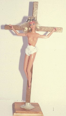 Barbie on the Cross