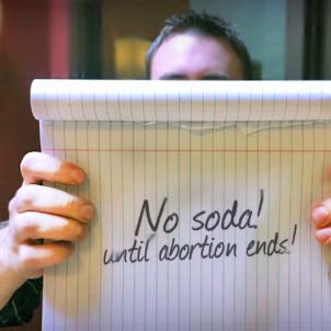 No Soda Until Abortion Ends (
