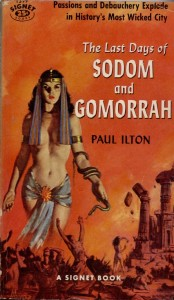 Not meant to be an accurate depiction of Sodom and Gomorrah.