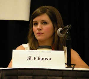 Jill Filipovic, Editor of Feministe (Image from Wikicommons)
