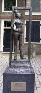 """Belle"" -- Statue in honor of sex workers in Amsterdam."