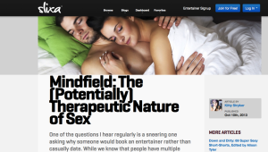 Mindfield: The Potentially Therapeutic Nature of Sex