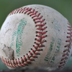"""A worn-out baseball"" by Schyler at English Wikipedia - Own work by the original uploader. Licensed under CC BY-SA 3.0 via Wikimedia Commons."