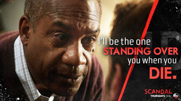Rowan Pope (Joe Morton): Not the kind of person you want to meet in a dark alley -- or even in a brightly-lit, comfortable room with lots of people around.