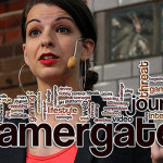 Anita Sarkeesian at Media Evolutions Conference in 2013