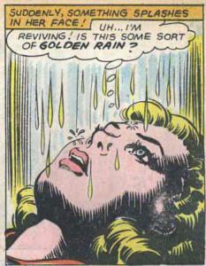 Supergirl's Golden Shower